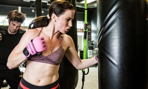 Primal Kickboxing: Boxing, Kickboxing, and Submission Wrestling at Primal Kickboxing (Up to 76% Off). Three Options Available.