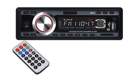 Autoradio con USB, MP3 e slot SD