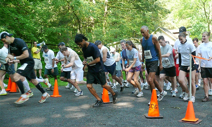 Friends of the Wissahickon 10K Race - Chestnut Hill: FOW Forbidden 10K Race Entry for One at Friends of the Wissahickon on Sunday, May 18 (Up to 52% Off)