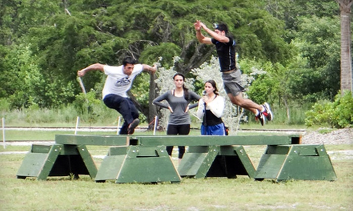 Monster: The Ultimate Obstacle Challenge - Multiple Locations: VIP Pass for One, Two, or Four to Monster: The Ultimate Obstacle Challenge (Up to 56% Off)