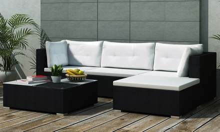 salon de jardin modulo groupon shopping. Black Bedroom Furniture Sets. Home Design Ideas