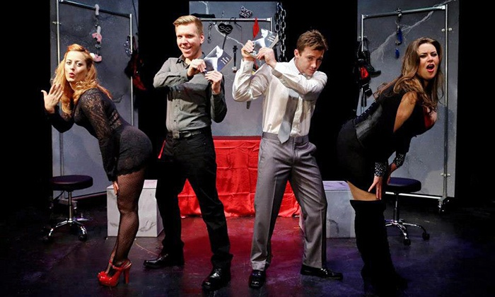 """""""Cuff Me: The Fifty Shades of Grey Unauthorized Musical Parody"""" - Levoy Theatre: """"Cuff Me: The Fifty Shades of Grey Unauthorized Musical Parody"""" on Friday, December 5"""