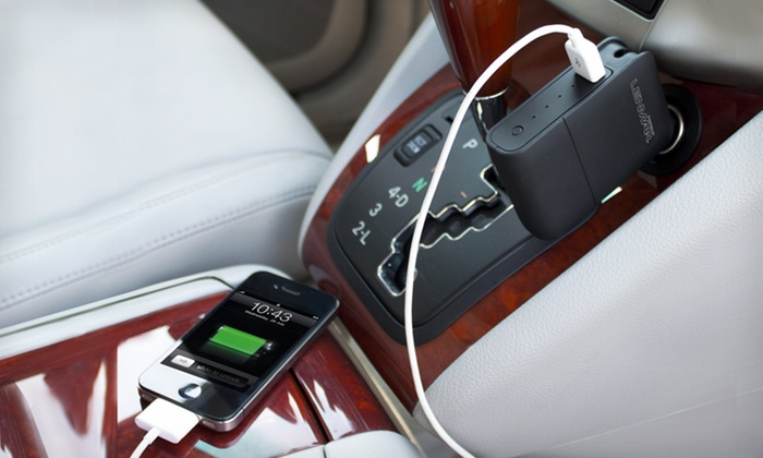 Lenmar USB Car/Wall Charger and Portable Battery: $24.99 for a Lenmar USB Wall/Car Charger and Portable Battery ($69.99 List Price). Free Shipping and Returns.