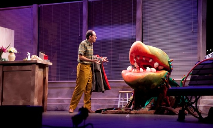 "Infinity Theatre Company - Baltimore: $30 for Two Tickets to ""Little Shop of Horrors"" by Infinity Theatre Company at the Children's Theatre of Annapolis (Up to $60 Value). 15 Showtimes Available."