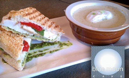 $20 Groupon to Blue Moon Cafe - Blue Moon Cafe in Fayetteville