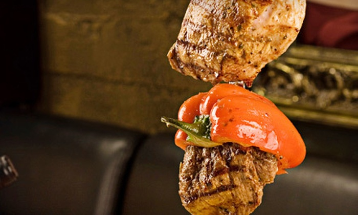 Brazil Grill - Midtown: All-You-Can-Eat Rodizio Dinner for Two or Three-Course Dinner for Two at Brazil Grill (Up to 57% Off)