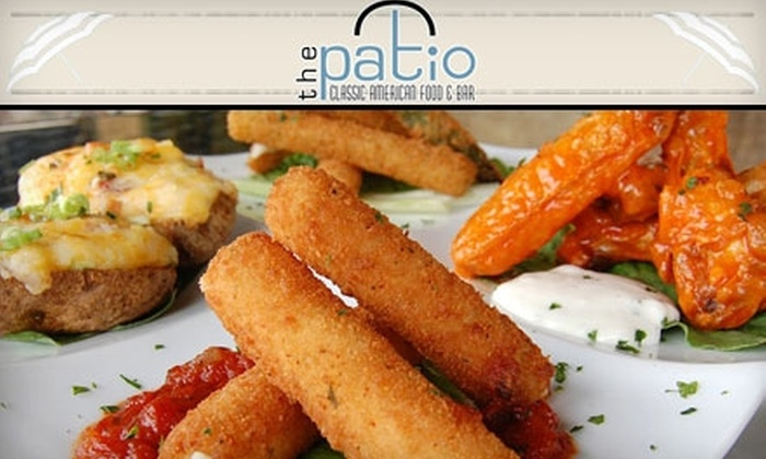The Patio - Three Chopt: $12 for $25 Worth of Classic American Fare at The Patio