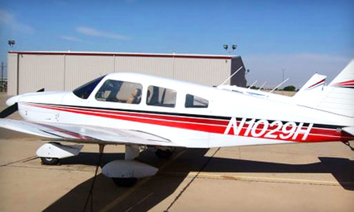 Anderson Aviation - Bulverde Hills: $119 for 45-Minute Flight-Lesson Package from Anderson Aviation in Bulverde ($249 Value)