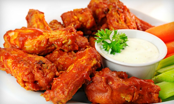 The Chicken Joint Grill and Bar - South West: $15 for $30 Worth of Wings, Ribs, and Chicken Chunks at The Chicken Joint Grill and Bar in Berlin