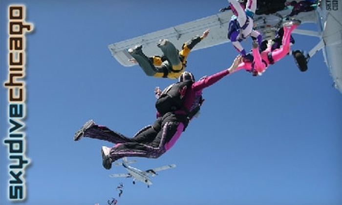 Skydive Chicago - Dayton: $125 for a Tandem Jump at Skydive Chicago ($209 value)