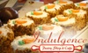 Indulgence Pastry Shop & Cafe - South Bend: $7 for $15 Worth of Pastries, Sandwiches, and More at Indulgence Pastry Shop & Cafe