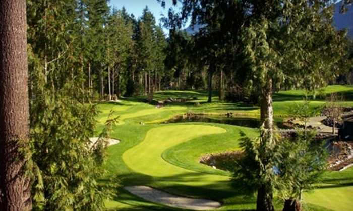Tap-Ins Putting Course - Cultus Lake: $13 for One Round of Golf for Two Adults at Tap-Ins Putting Course (Up to $27 Value)