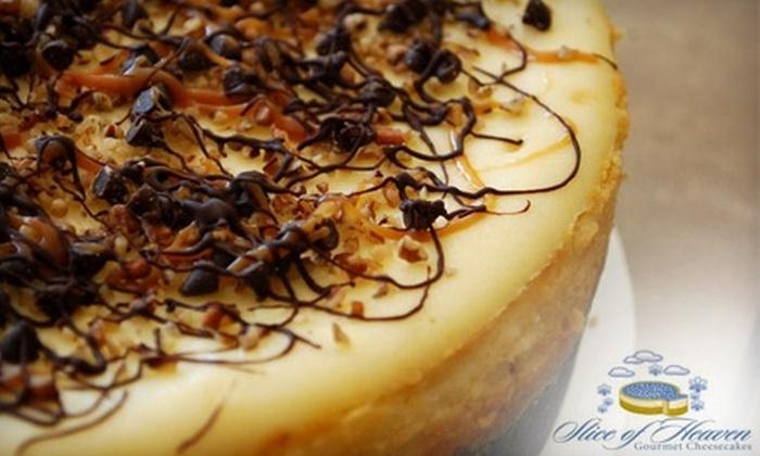 Slice of Heaven - Midwest City: $9 for a Dozen Mini Cheesecakes at Slice of Heaven in Midwest City ($17.40 Value)