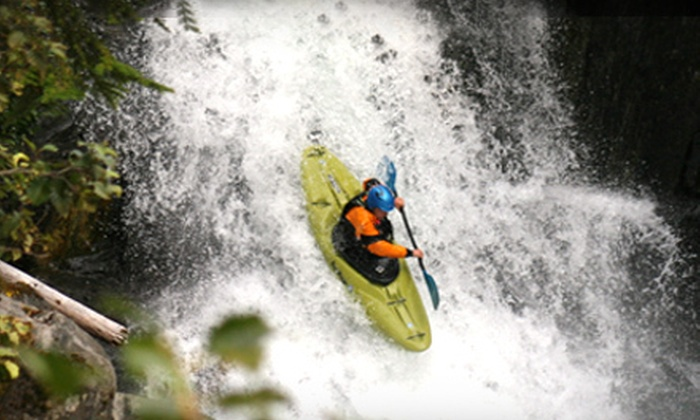 Aquabatics - Calgary: $40 for a Quick-Start Intro to Kayaking Lesson from Aquabatics ($82.95 Value)