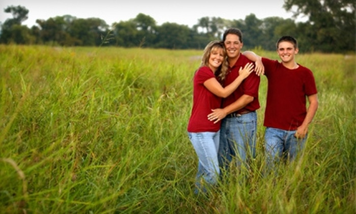 "Photographic Designs - Riverwalk Crossing: $59 for a Portrait Session and an 11""x14"" Wall Portrait at Photographic Designs in Jenks ($335 Value)"