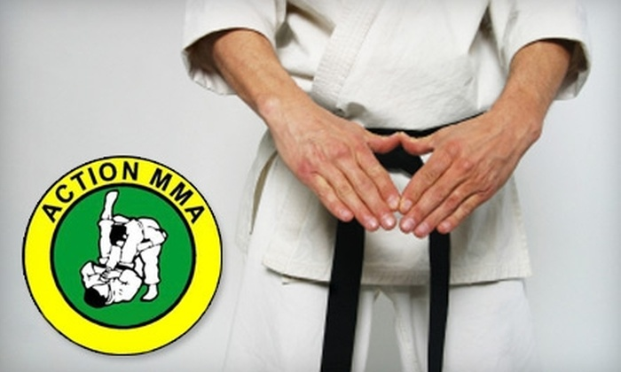 Action MMA - Sioux Falls: $30 for Two Months Unlimited Adult Classes (Up to $220 Value) or $20 for Two Months Unlimited Kids Classes (Up to $80 Value) at Action MMA