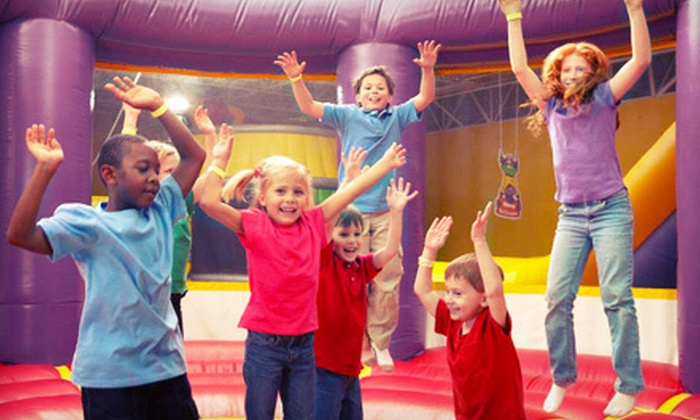 Monkey Joe's - Bealls Outlet Plaza: $25 for Up to Five Jump Sessions at Monkey Joe's in Pembroke Pines (Up to $49.95 Value)