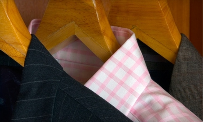 Belmont Laundry and Custom Dry Cleaners - Multiple Locations: $15 for $30 Worth of Dry-Cleaning Services at Belmont Laundry and Custom Dry Cleaners