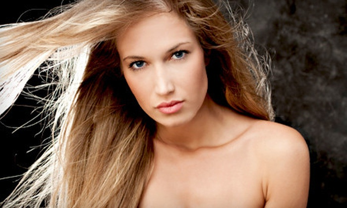Fringe Salon - Washington: $45 for a Hairstyling Package with Deep-Conditioning Treatment at Fringe Salon in Chesapeake ($95 Value)