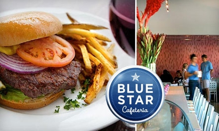 Blue Star Cafeteria - Brentwood: $10 for $20 Worth of Uptown Comfort Cuisine at Blue Star Cafeteria