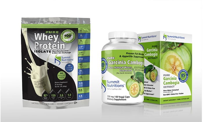 Up To 39 Off On Whey Protein Garcinia Cambogia Groupon Goods