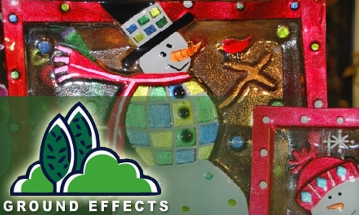 Ground Effects - Sioux Center: $10 for $20 Worth of Christmas Décor at Ground Effects in Sioux Center