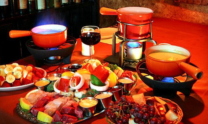 Geja's Cafe - Lincoln Park: Fondue and Wine on Thursday–Sunday or Monday–Wednesday at Geja's Café (Half Off)