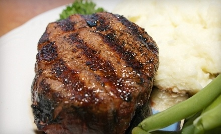 $50 Groupon to Your Choice of Michaels Steaks and Seafood at Riverchase Galleria or Michaels Restaurant in the Aloft Hotel in Homewood - Michael's Restaurants in Homewood