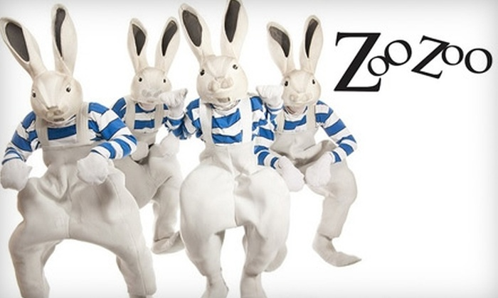 "Imago Theatre - Buckman: $14 for One Ticket to ""ZooZoo"" on December 10 at Imago Theatre (Up to $29 Value)"