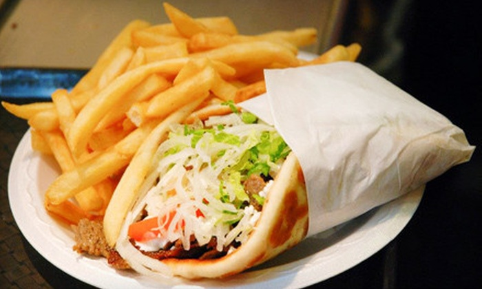 Kyklos Greek Cafe - East Las Vegas,Whitney Ranch: Gyros and Drinks for Four or $7 for $15 Worth of Greek Fare at Kyklos Greek Cafe in Henderson