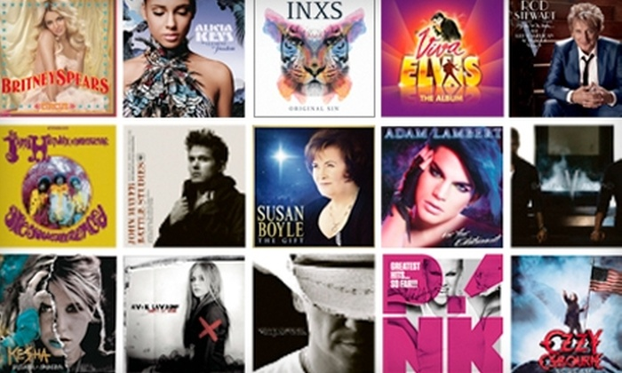 Sony Music Canada: $25 for 45 Digital Music Tracks from Sony Music Canada (Up to $58 Value)
