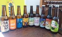 Taller con cata de 4 cervezas artesanales y maridaje para 2 o 4 personas desde 19,95 € en Dbirras