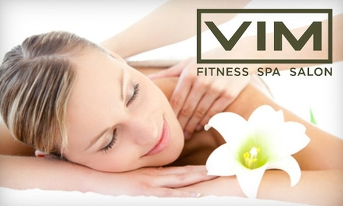 VIM Fitness Spa & Salon - Cambridgeport: $69 for a One-Hour Massage and Spa Mani-Pedi at VIM Fitness Spa and Salon in Cambridge ($145 Value)