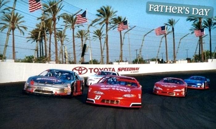 Toyota Speedway at Irwindale - Irwindale: $59 for Reserved Seats, Eats, and Drinks at Toyota Speedway at Irwindale ($150 Value)