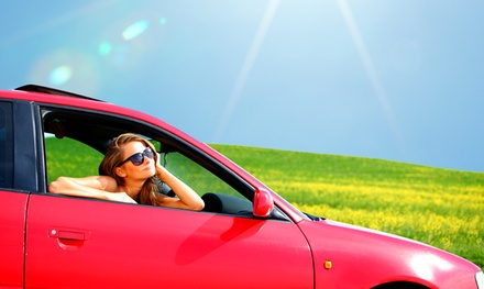 Holiday Car Hire: £5 for £40, £15 for £60, £22 for £120...
