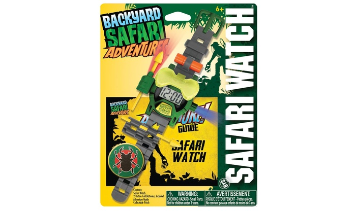 backyard safari safari watch groupon goods