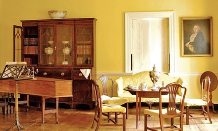 Individual or Family Membership or Full Moon Tour for Two or Four at the Hammond-Harwood House (Up to 50% Off)