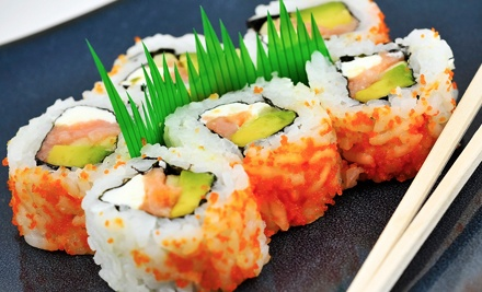 Sushi and Asian Cuisine for Two or Four at Sake Hana Asian Cuisine & Sushi Bar (Half Off)