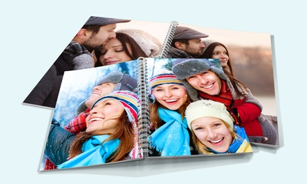 Custom Spiral Vinyl Photobooks (Up to 78% Off) from Only $4.99$9.99 in sizes 8x8 & 8.5x11 by Printerpix
