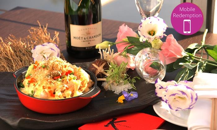 treat mum to lobster champagne kobe jones groupon. Black Bedroom Furniture Sets. Home Design Ideas