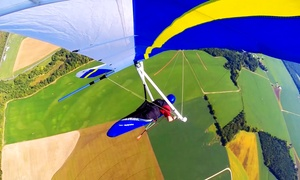 Blue Sky Virginia Hang Gliding: Beginner Hang-Gliding Lesson for One or Two at Blue Sky Virginia Hang Gliding (50% Off)