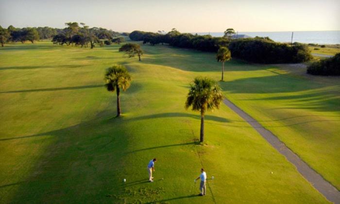 Jekyll Island Golf Club - Jekyll Island: Golf Outing with Greens Fees, Cart Rental, and Range Tokens for Two or Four at Jekyll Island Golf Club (Up to 54% Off)