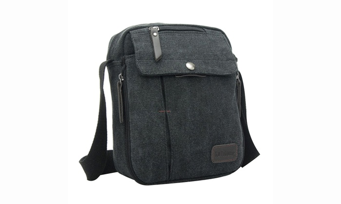 Unisex Multifunctional Canvas Traveling Bag