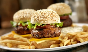 The Landshark: Sliders, Burgers, and Bar Snacks for Dinner at The Landshark (Up to 60% Off). Two Options Available.