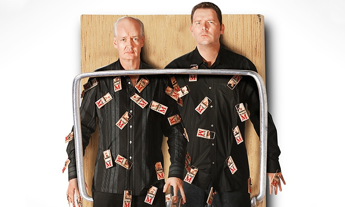Colin Mochrie & Brad Sherwood: Two Man Group - Lynn Auditorium: Colin Mochrie & Brad Sherwood of Who's Line is it Anyway at Lynn Auditorium on April 6 at 5 p.m. (Up to 51% Off)