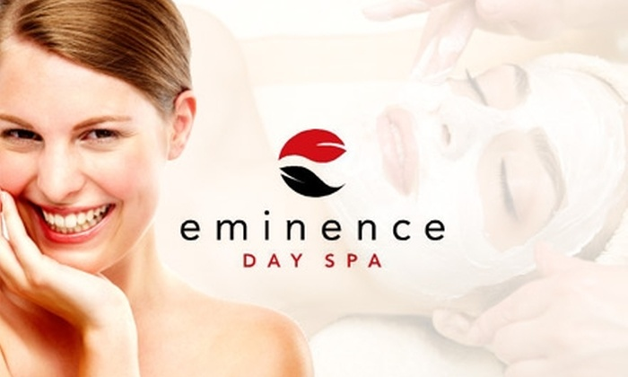 Eminence Day Spa - Cary: $49 for Ion Magnum Inch-Loss Treatment and Choice of 45-Minute Massage or Facial at Eminence Day Spa
