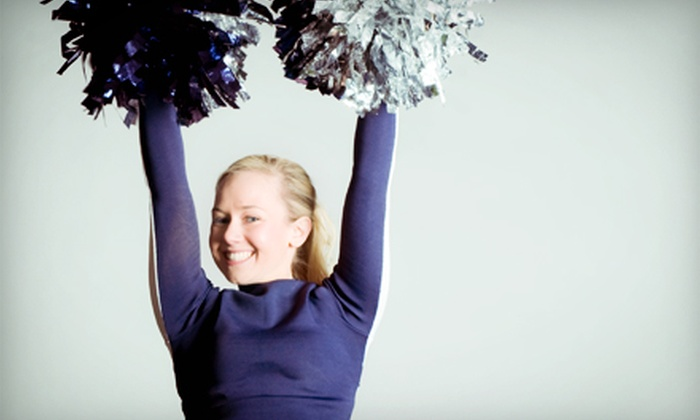 Elite Cheer and Dance - South East Raleigh: 8 Weeks of Cheer, Dance, or Tumbling Classes or One Week of Track-Out Camp at Elite Cheer and Dance (Up to 55% Off)