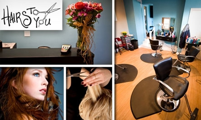 Hairs To You - Bala Cynwyd: $25 for $50 Worth of Salon Services at Hairs To You