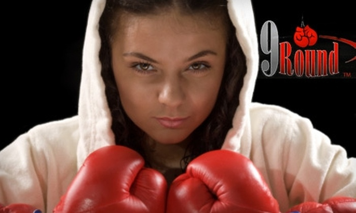 9Round Kickboxing - Madison: $24 for One Month Membership to 9Round Kickboxing ($49.95 Value)