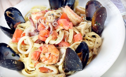 $25 Groupon to Gheppettos Grille - Gheppettos Grille in Ware